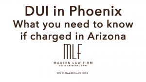 Phoenix DUI Lawyer Scott Maasen