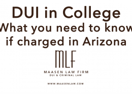 College DUI Scott Maasen Law Firm Lawyer