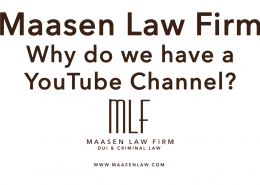 Youtube Channel Maasen Law Firm